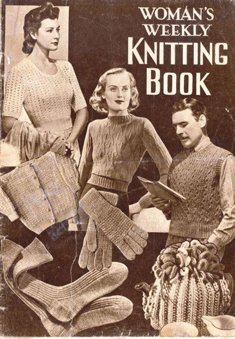 weekly knitting patterns s weekly knitting book by amalgamated press