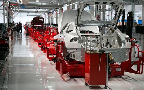 Tesla Manufacturing Plant Temple Of Tesla Touring Elon S Factory Motor Trend