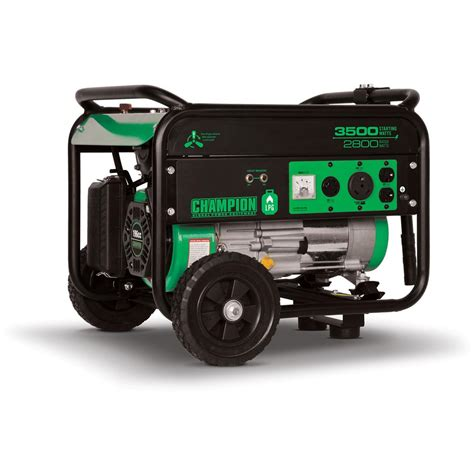 chion 174 76530 propane powered 3 500 watt portable