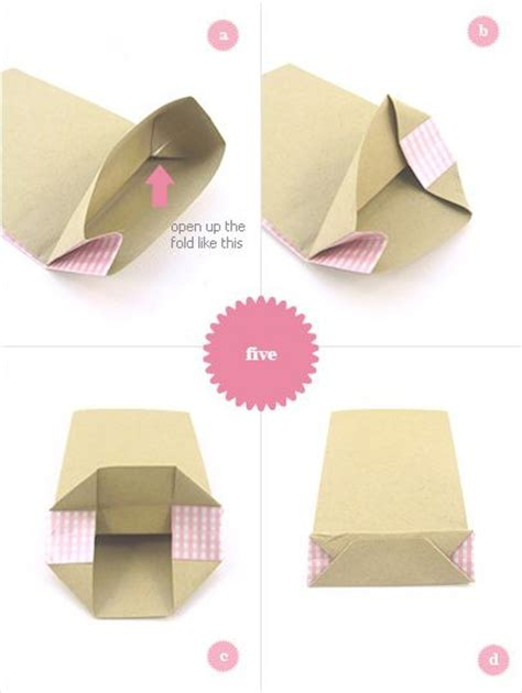 How To Make Your Own Paper Bag - 1000 ideas about diy paper bag on paper bags