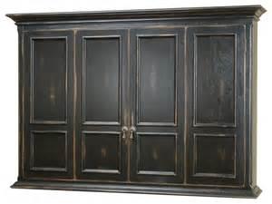 hillsboro flat screen tv wall mount cabinet traditional