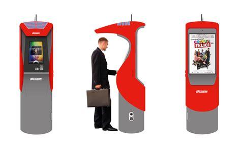 cabina telefonica telecom nuovi progetti con totem touch screen e digital signage