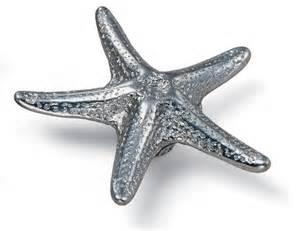 oceana cabinet knob starfish silverado laurey 56760