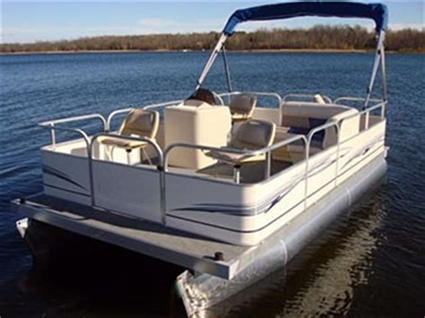 16 pontoon boat 16 ft pontoon boat w bimini top steering console rear