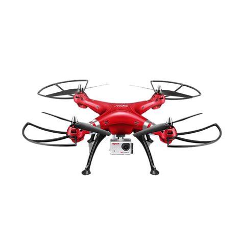 blibli drone jual syma x8hg drone merah online harga kualitas