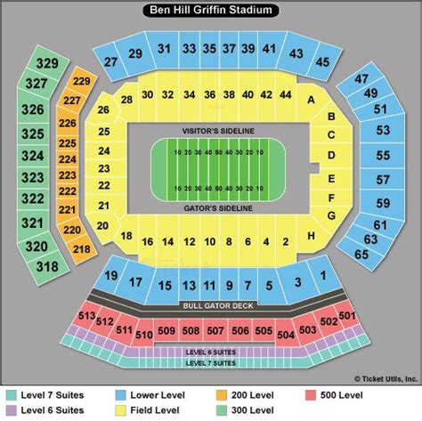 florida state stadium seating chart florida gators football tickets 2018 schedule ticketcity