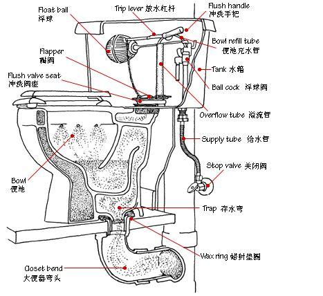 Bathroom Parts Names american standard parts diagram american get free image