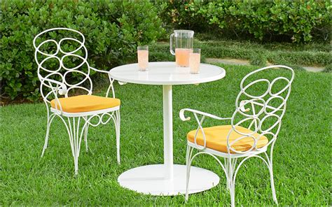 Outdoor Wrought Iron Patio Furniture by Wrought Iron Garden Furniture Landscaping Gardening Ideas