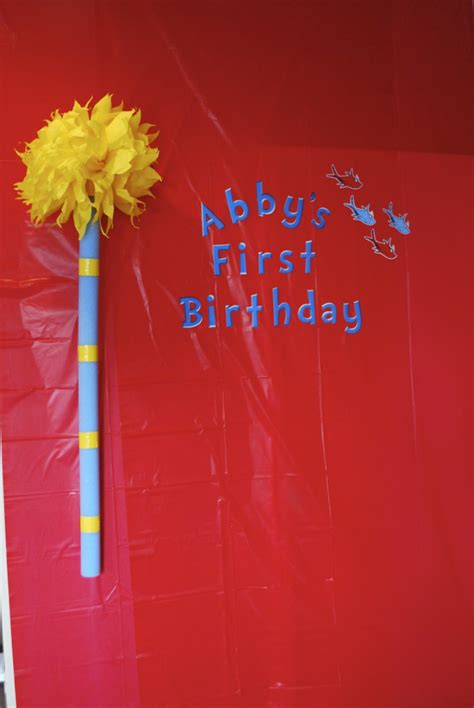 abigails dr seuss themed  birthday party project