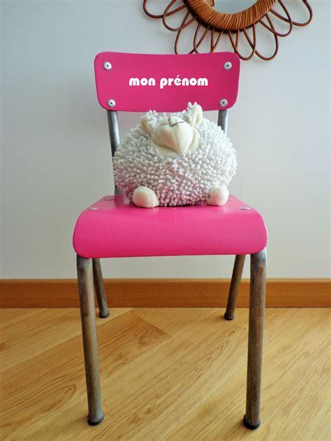 chaise enfant personnalisable lilibroc relooking de meubles vintageschaises vintages