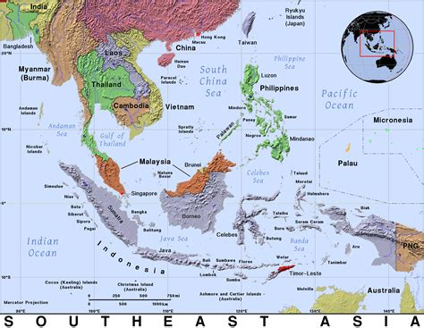south asia and southeast asia map war stories