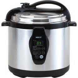 nesco digital electric 6 quart pressure cooker walmart com