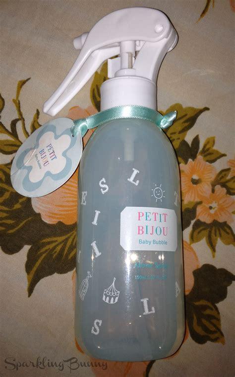 Etudehouse Petit Bijou All Spray sparkling bunny etude house petit bijou baby