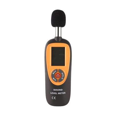 ht  mini portable sound level meter  lcd screen