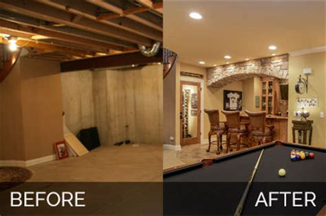 unfinished basement before and after brian danica s basement before after pictures home