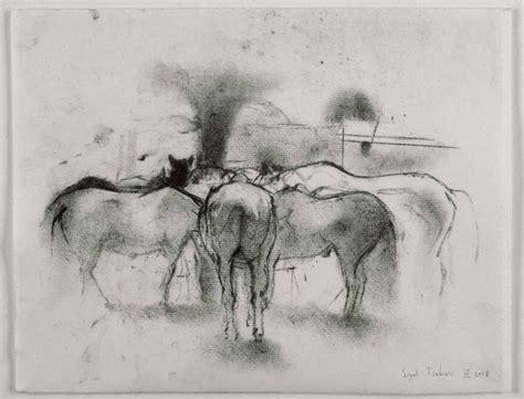 P Sigal Sketches by Sigal Tsabari Equus Es Traditional