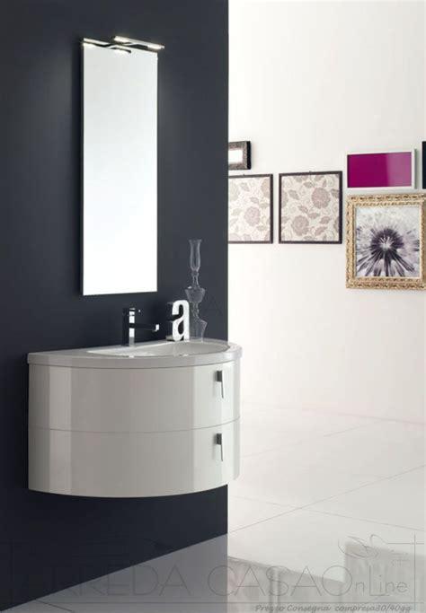 ebay mobile bagno mobile arredo bagno arcom curvo circolare specchio