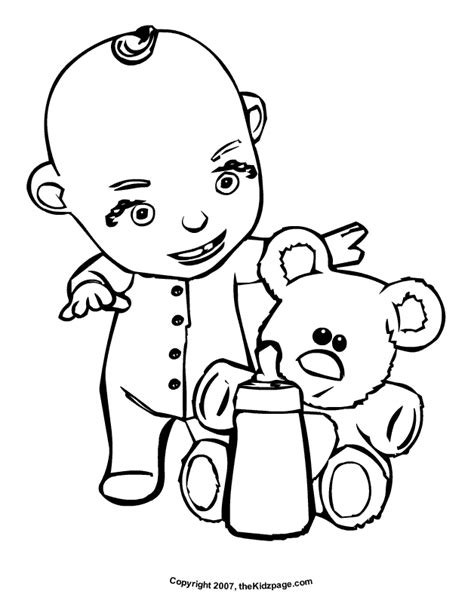 coloring pages baby items water bottle coloring page az coloring pages