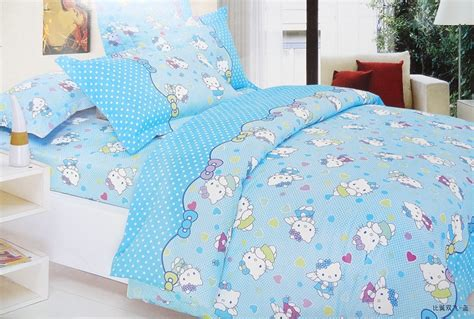 hello kitty bedding blue hello kitty bedding sets girls bedding sets