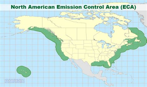 american eca map american emission area eca and the effects