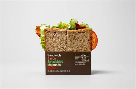 Packaging Wrap fresh 7 eleven sandwich packaging by bvd shelby white the of artist visual designer