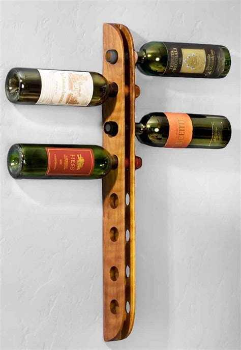 wood wine racks wooden rustic woodworking plans  plans