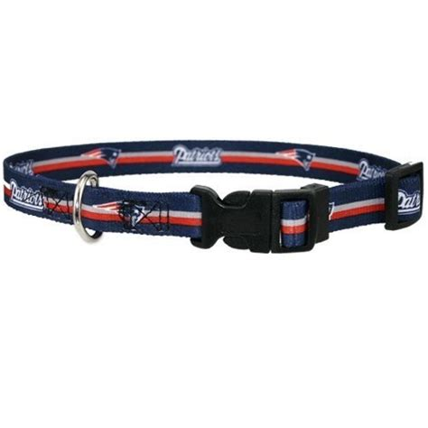 patriots collar new patriots collar offically licensed nfl football pet gear at