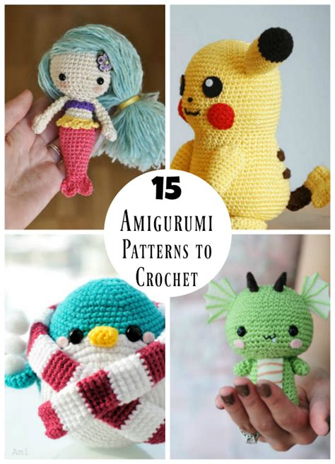 Pokemon Home Decor 15 Amigurumi Patterns You Must Crochet Make And Takes