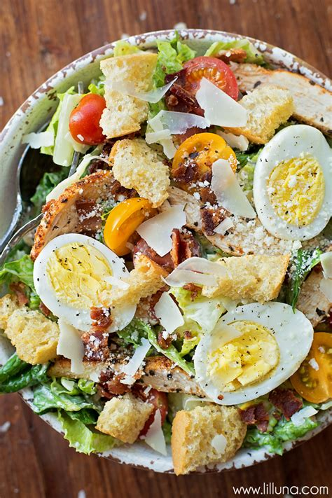 caesar salad with blue cheese and bacon recipe ina chicken caesar salad lil luna