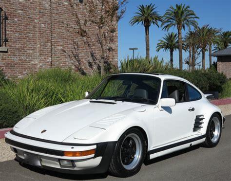 1989 porsche 911 turbo factory 505 slantnose coa 1 california owner since 1991 classic porsche