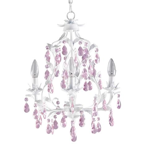 Pink Chandelier For Girls Room | pretty pink chandelier for girls room homesfeed