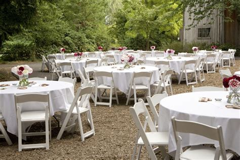 fashion on the outdoor wedding decorations