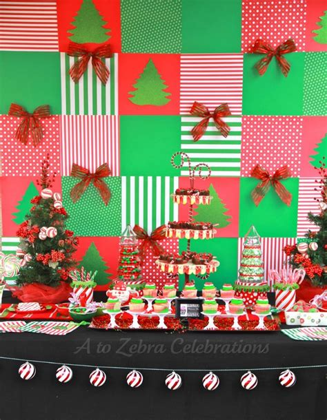 backdrop design christmas party cheap christmas party decorating ideas c wall decal