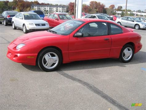 1997 bright red pontiac sunfire gt coupe 20533807 1997 bright red pontiac sunfire gt coupe 20533807 photo 9 gtcarlot com car color galleries