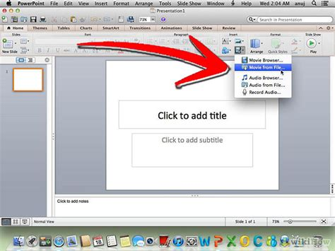 how to insert how to insert into your powerpoint presentation