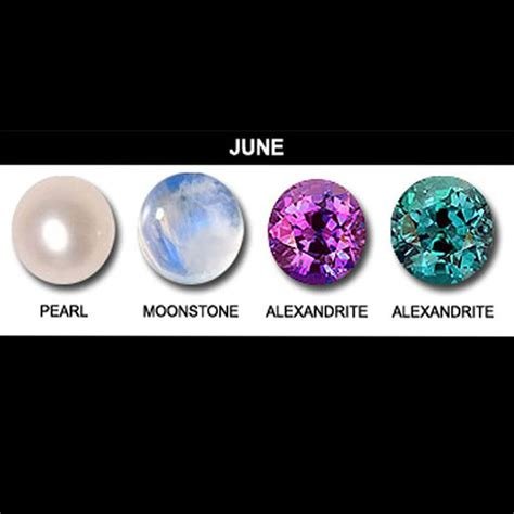 gemini birthstone color june birthstones pearl alexandrite and moonstone