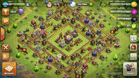 th11 clash of clans best base layouts image gallery th 11