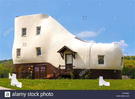 novelty house shoes haines shoe house in hellam pennsylvania roadside attraction novelty stock photo