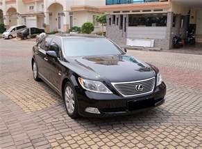 2008 lexus ls460l hitam size sedan sold