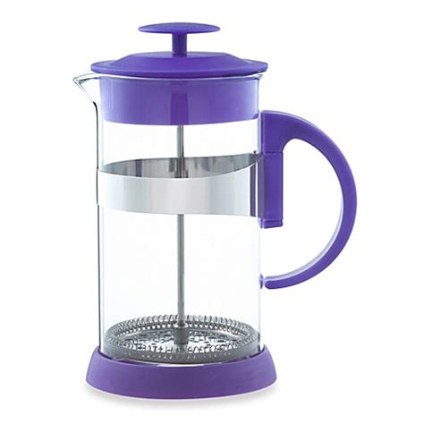 bed bath and beyond french press buy grosche zurich 8 cup french press in purple from bed