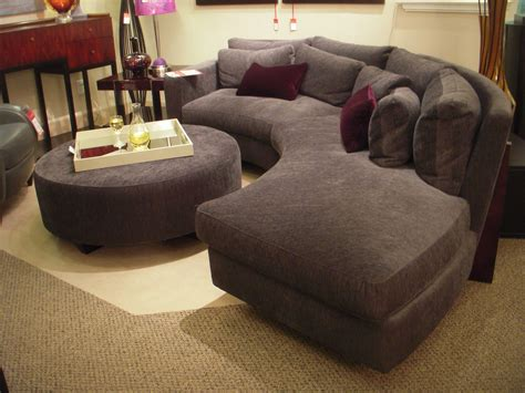 furniture grey fabric sectional design with