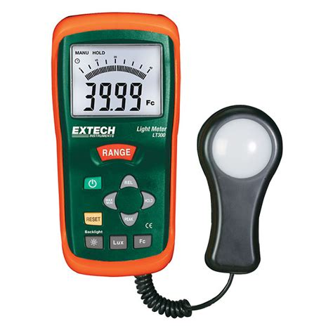 Light Meters by Extech Lt300 Precision Digital Light Meter From Cole Parmer