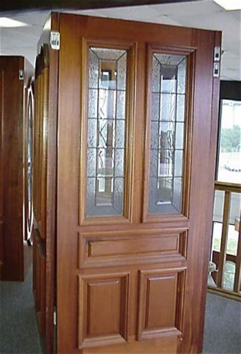 Custom Made Beveled Glass Twin Doors Custom Made Glass Doors