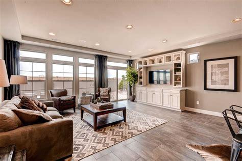 ranch living room ideas erie highlands ranch house pinehurst living room 1