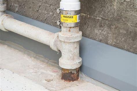 drytrak 174 basement drainage system for monolithic foundations