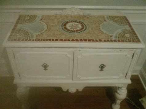 mosaic classes hand painted furniture