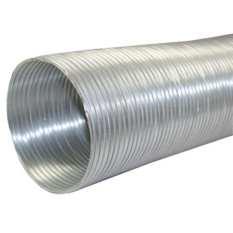Pipa Aluminium 1 Inch speedi products 7 in x 96 in aluminum flex pipe ex