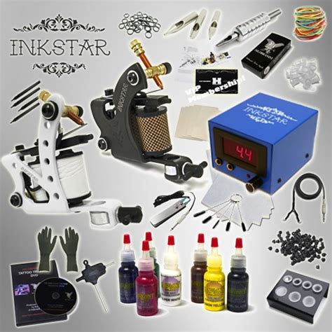 inkstar tattoo kit kit inkstar journeyman kit radiant 7 color set