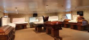 funeral home caskets