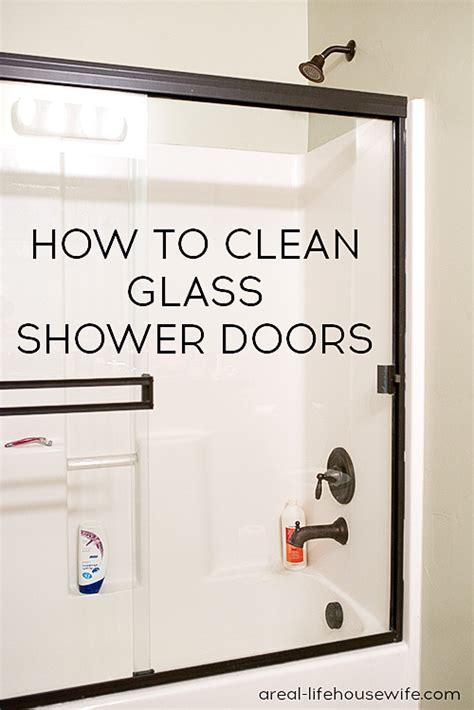 How To Clean Shower Doors by 10 Easy Diy Cleaning Hacks Nifty Diys